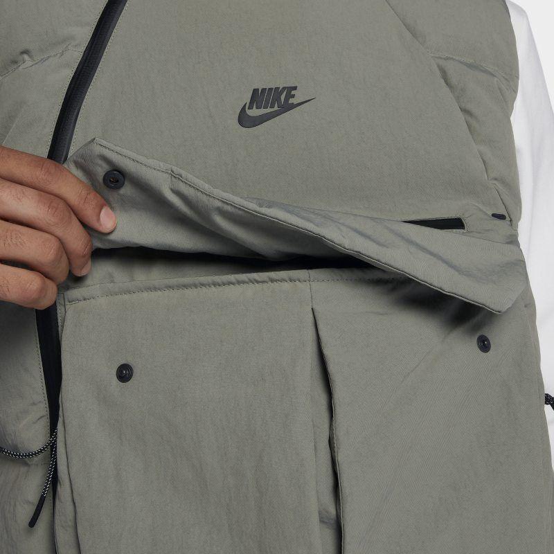 1b9c73d8842d Nike Sportswear Tech Pack Down-Fill Men's Gilet - Grey | Products ...