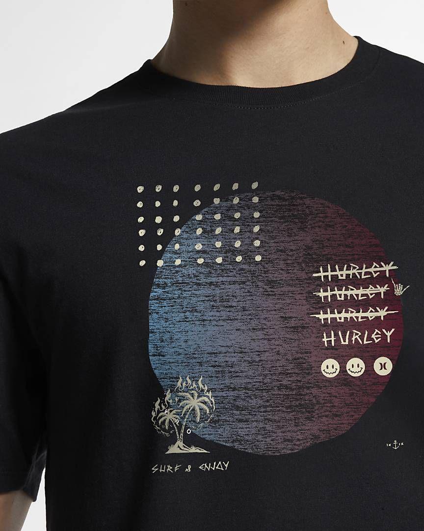 eae2f8c8da Nike Men's T-Shirt Hurley Premium Stranger Tides in 2019 | Menswear ...