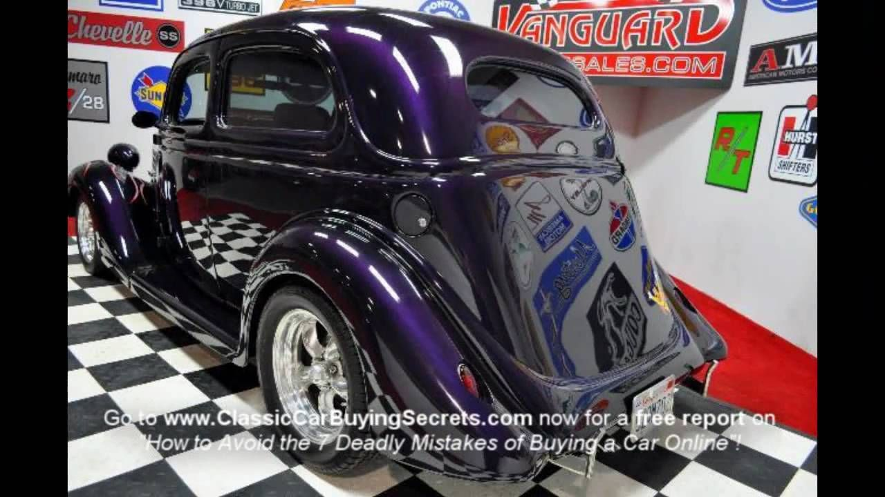 1935 Ford Slantback Street Rod Classic Muscle Car for Sale in MI ...