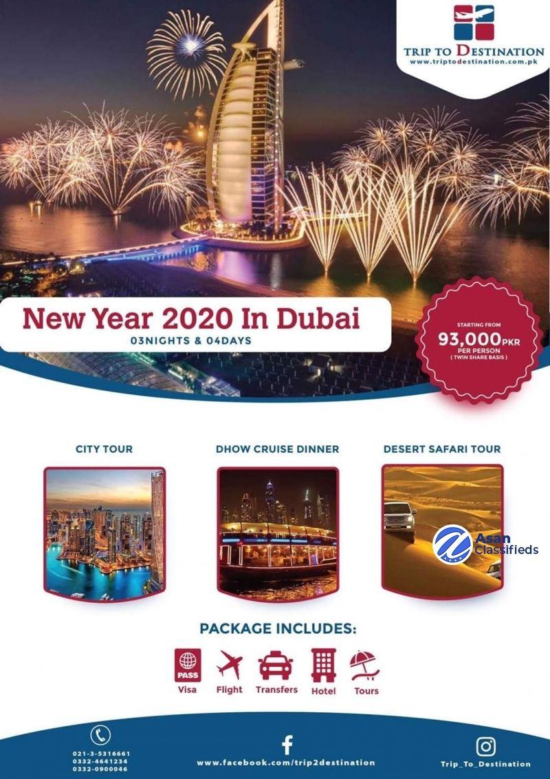 Trip To Destination Dubai travel, Free classified ads
