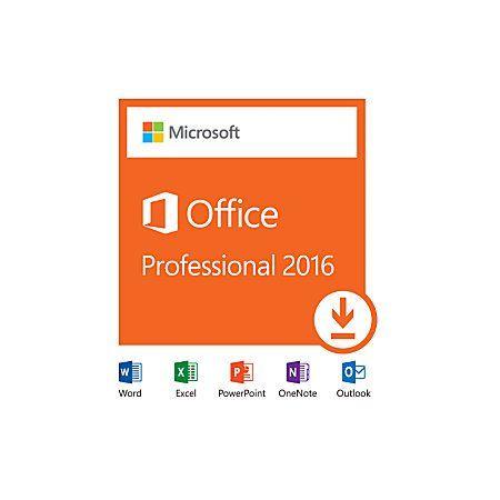 Office Professional Plus 2016 For Windows 1 Pc Key Card Scrap Pc