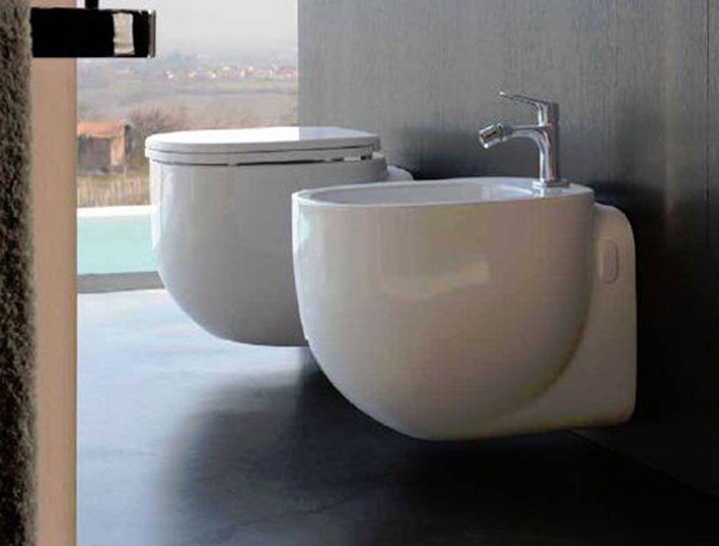 POZZI GINORI 500 #Vaso #sospeso. #bagno #sanitari http://www ...