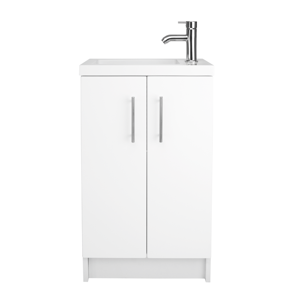 Cleveland 500 Basin And Gloss White Wall Mounted Vanity Unit ...