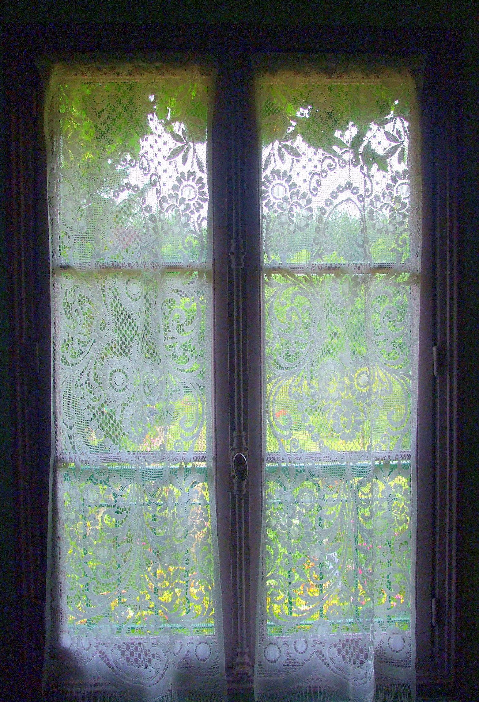 I took that picture from the inside of french painter, Claude Monet's home in Giverny, France.