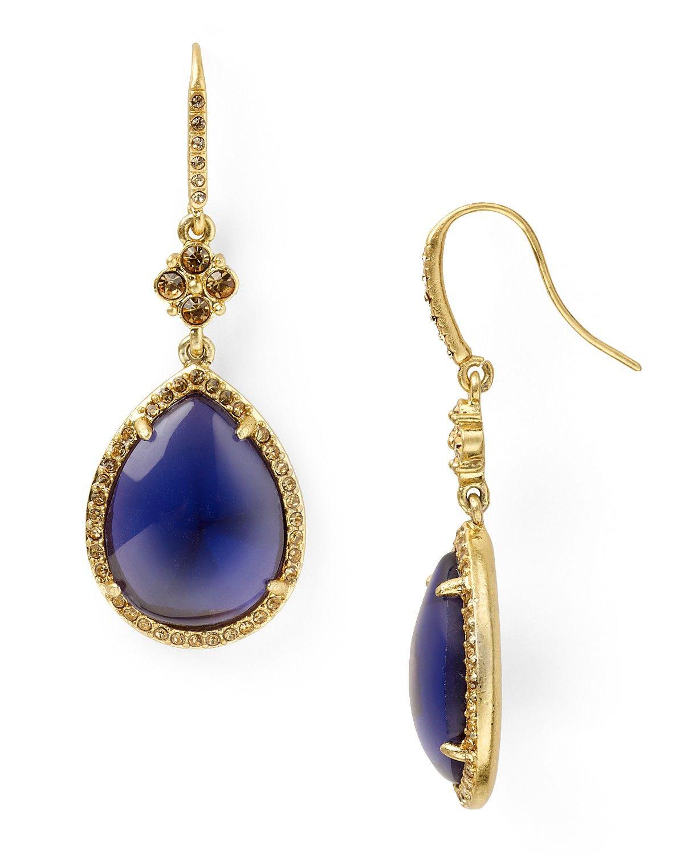 Carolee Lux Glamorous Jewels Teardrop Earrings Jewelry Accessories Bloomingdale S