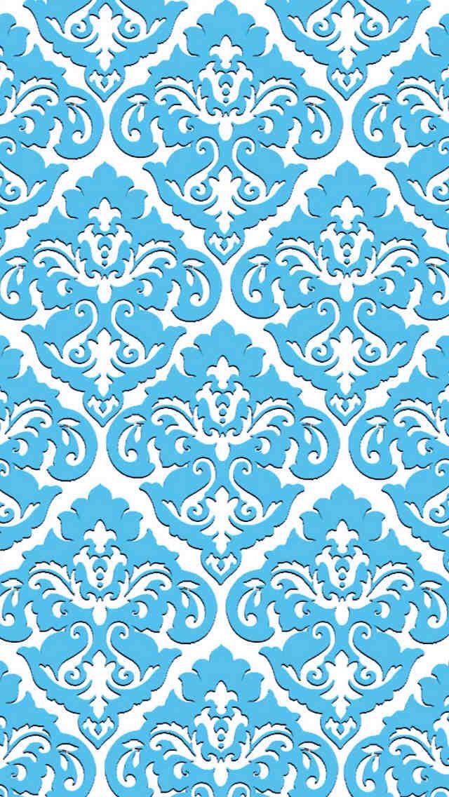 Light Blue Pattern Iphone Wallpaper In 2019 Pattern