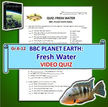 this editable one page video quiz with answer key is for bbc planet earth 39 s fresh water episode. Black Bedroom Furniture Sets. Home Design Ideas