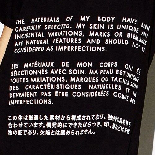 detail t shirt