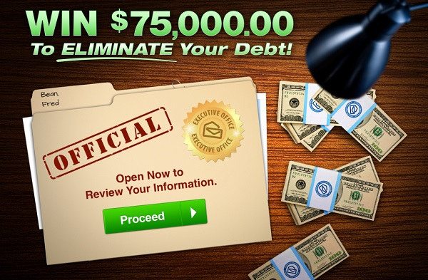 Win 75000 to Eliminate Your Debt from PCH! in 2020