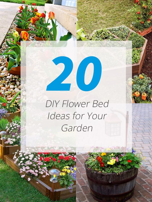 Alleviate The Look Of Your Garden With These DIY Flower Beds!