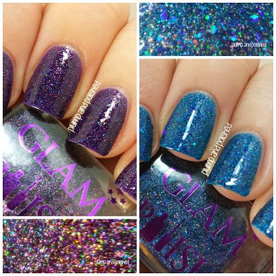 Plump and Polished: Glam Polish - Tempestarii and Book of Shadows
