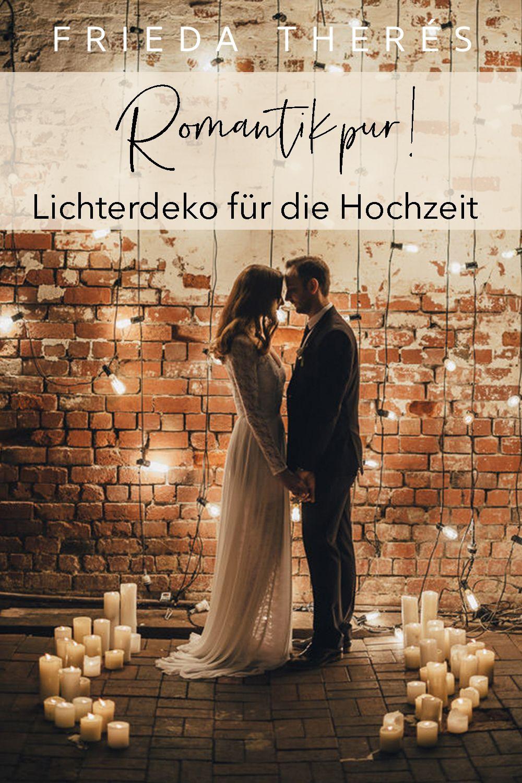 Photo of Lichterketten Hochzeit