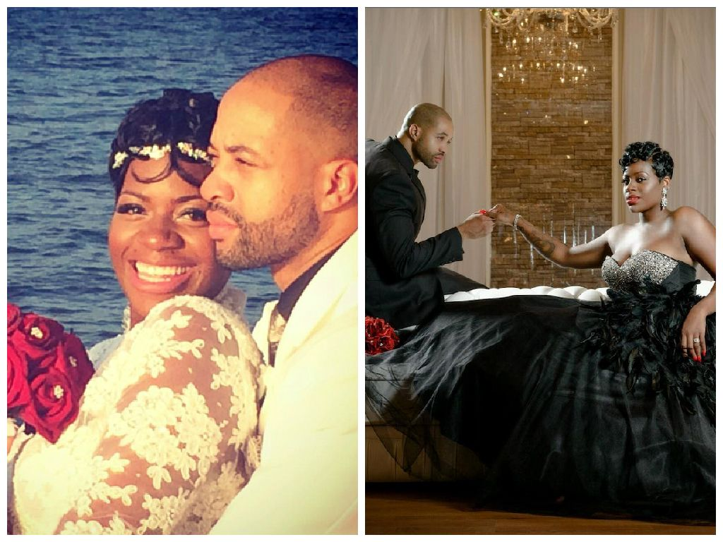 Congratulations To Fantasia Barrino Who Got Married To Kendall Taylor Over The Weekend We Re Wishing This Couple The Ve Famous Couples Couples Weekend Is Over