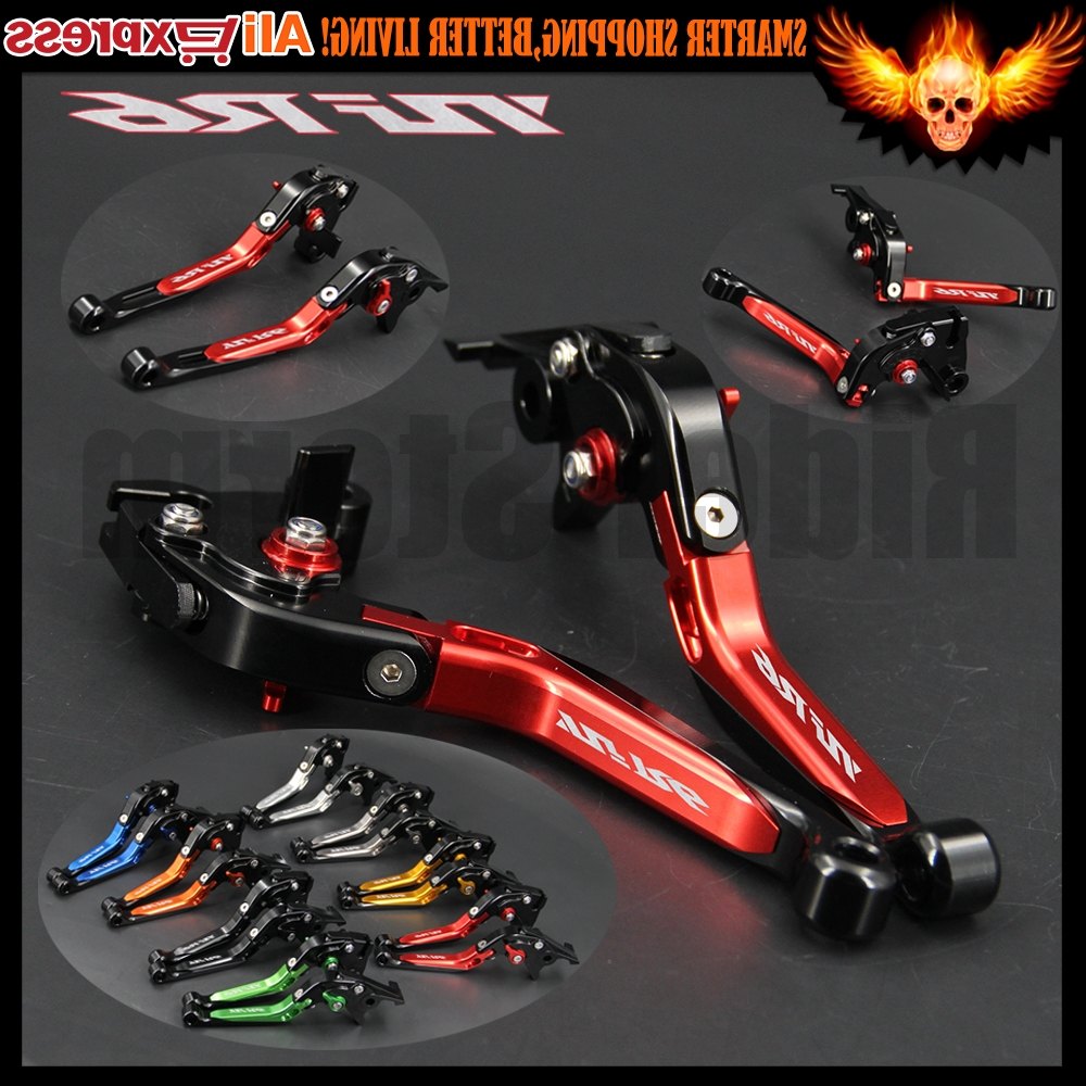Ordinaire ... Red Color Folding Extendable Motorcycle Adjustable CNC Brake  Clutch Levers For Yamaha