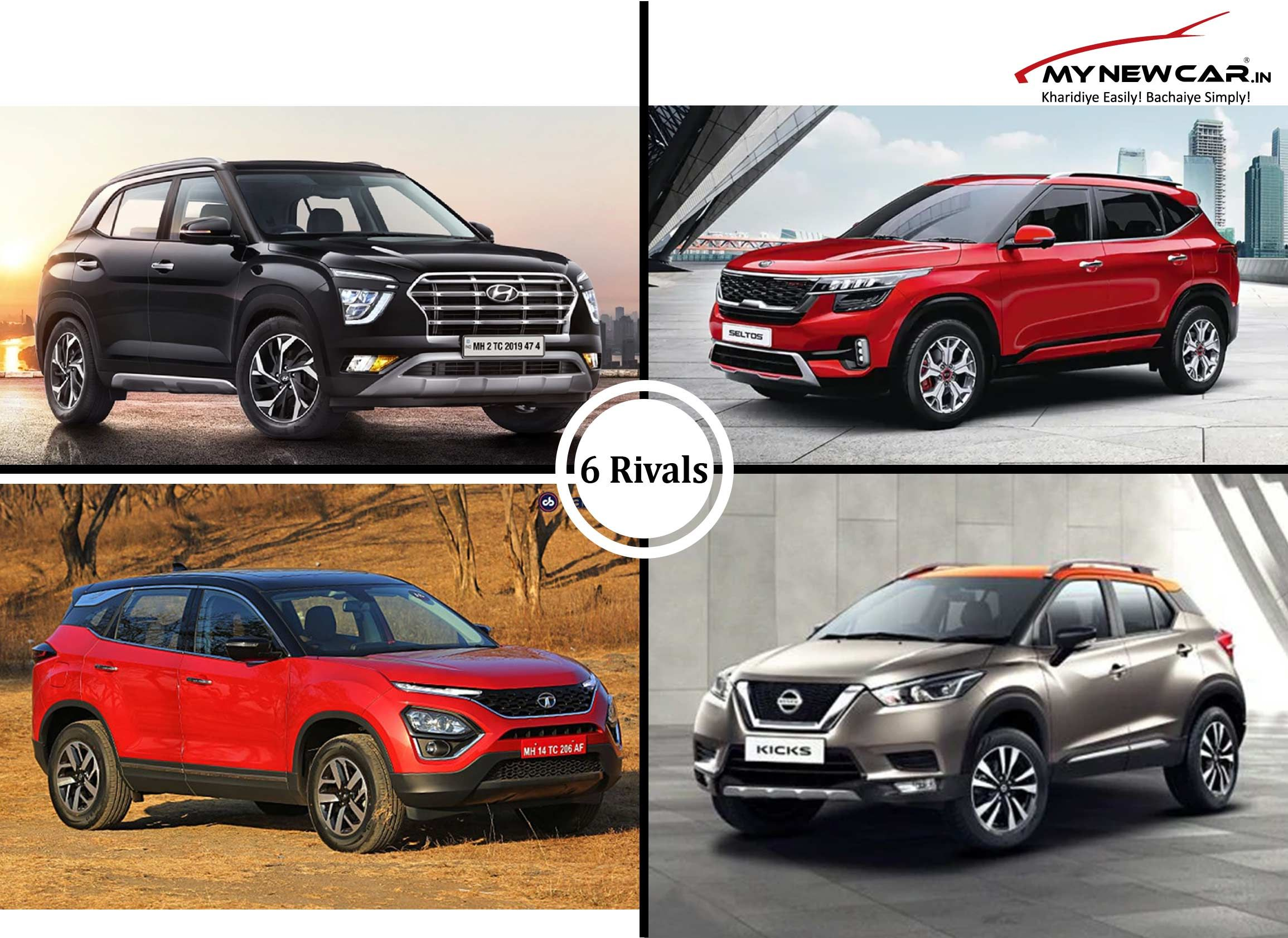 Hyundai Creta Comparison with Rival Cars in 2020 Hyundai