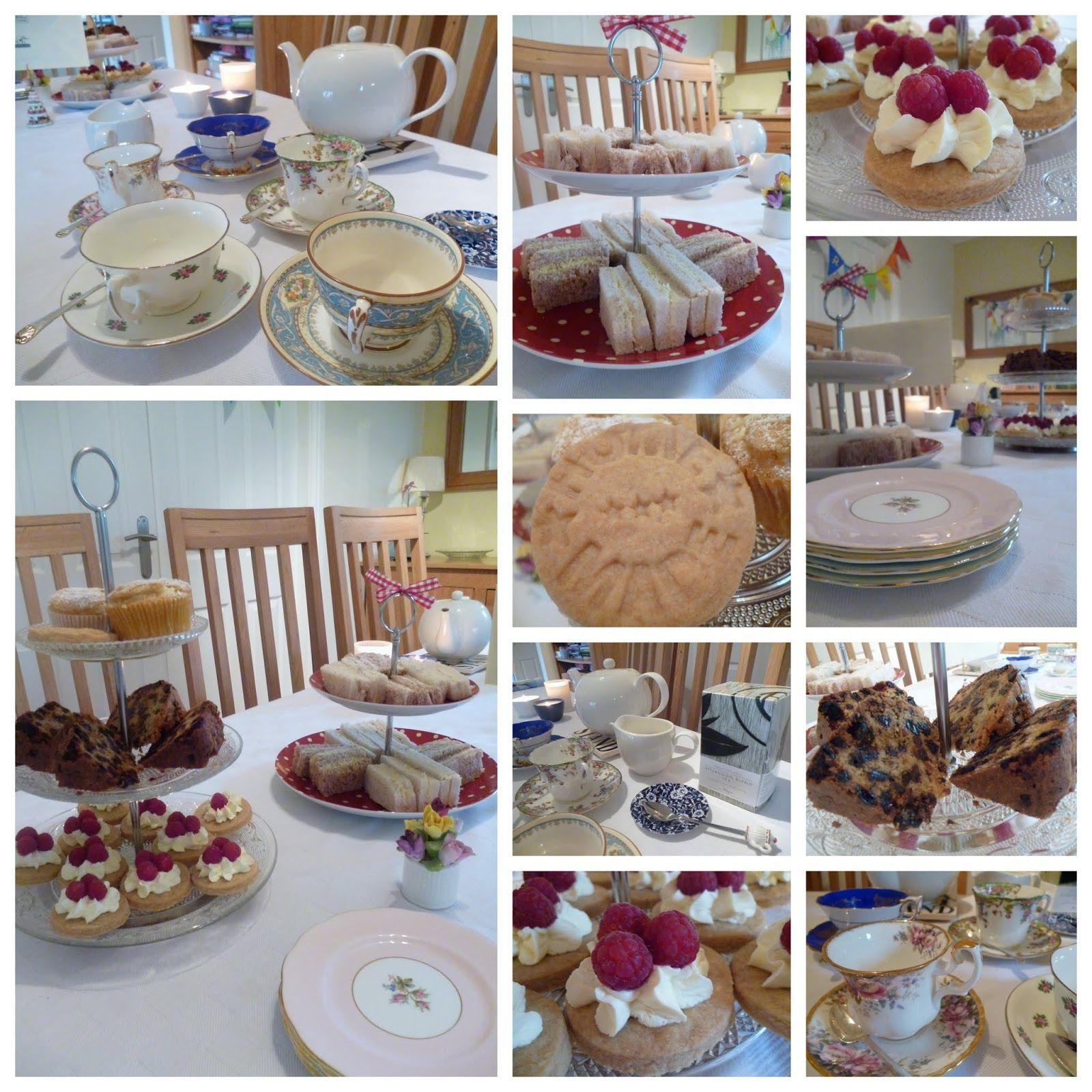 Garden, Tea, Cakes and Me Homemade Afternoon Tea a