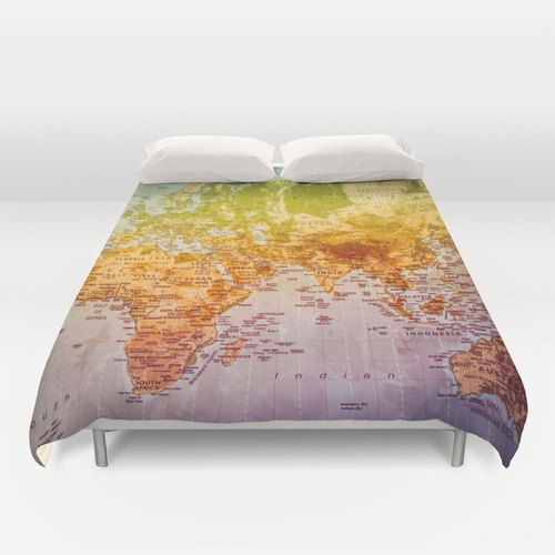 World map duvet cover bedding bed sheets duvet cover world map world map duvet cover bedding bed sheets duvet cover world map gumiabroncs Image collections