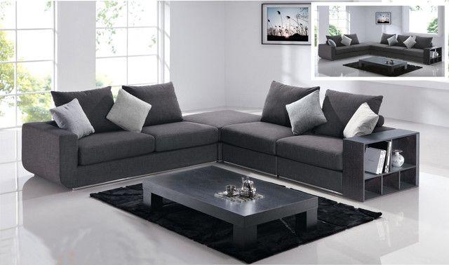 Moderne Grau-Schnitt-Sofa-Moderne Sectional Sofas Anderen ...
