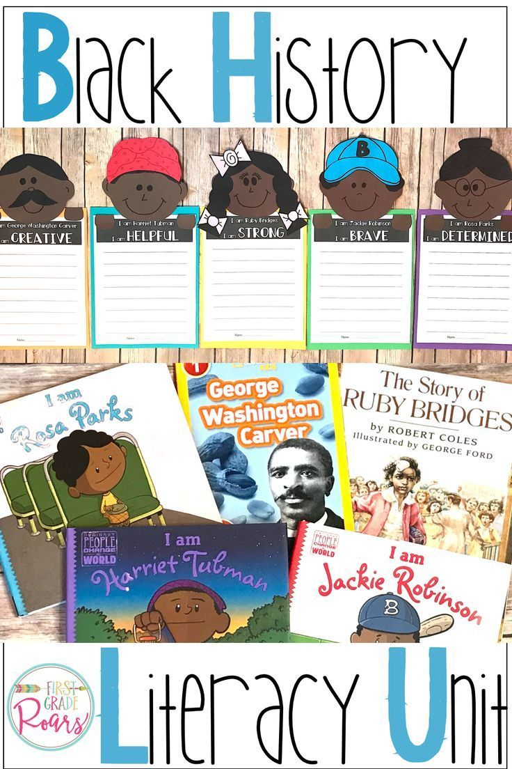 Black History Month Bundle (With images) Black history month