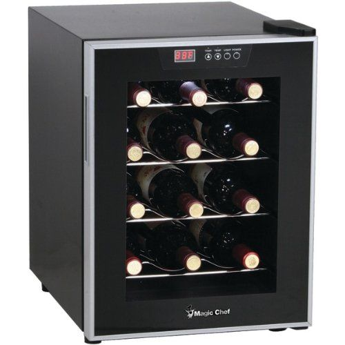 Magic Chef Mcwc12sv Magic Chef Mcwc12sv 12bottle Wine Cellar Details Can Be Found By Clicking Wine Refrigerator Best Wine Coolers Best Wine Refrigerator
