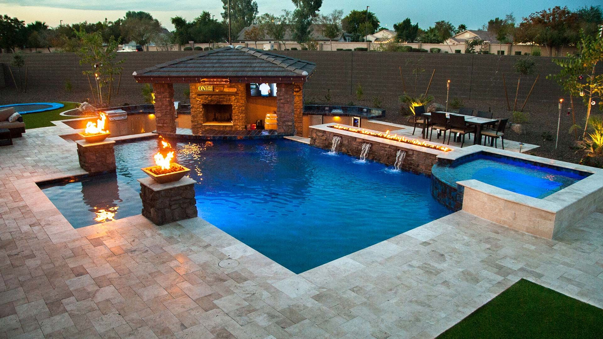 Custom Swimming Pools And Spas Inspired