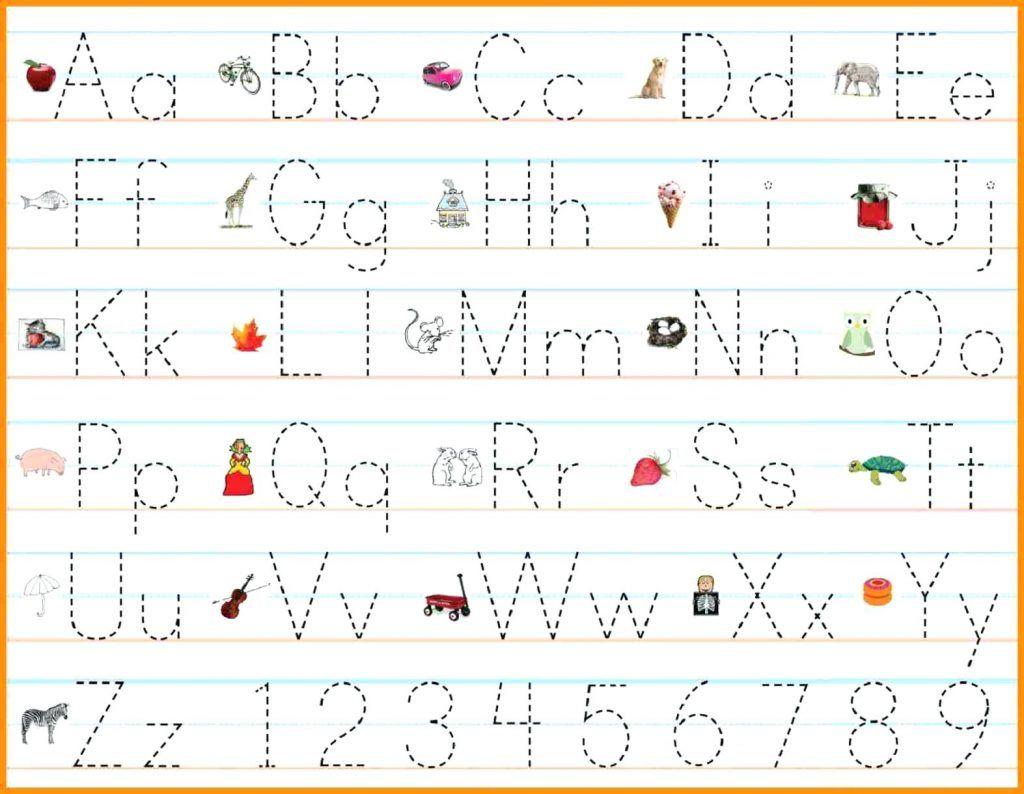 Abc Worksheets For Preschool