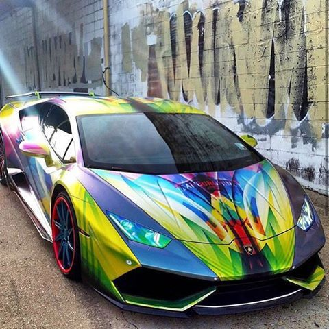Custom lamborghini paint job cars pinterest for Car paint designs pictures