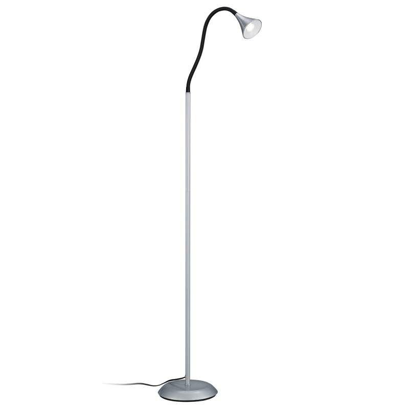 Verrassend Uit metaal bestaande LED vloerlamp Viper zilver - Lampen, Leeslamp XV-56