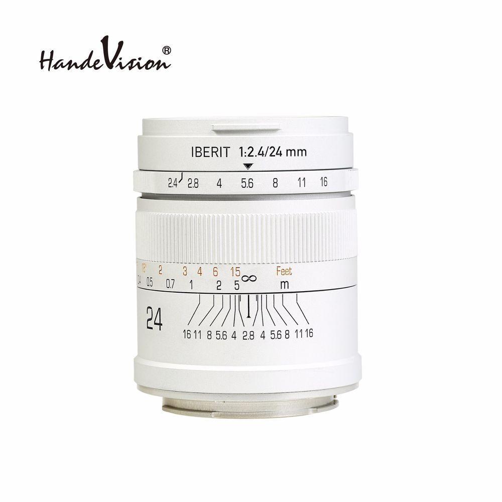KIPON IBERIT 24mm F2.4 Full Frame Lenses for Sony E Mount NEX Camera ...