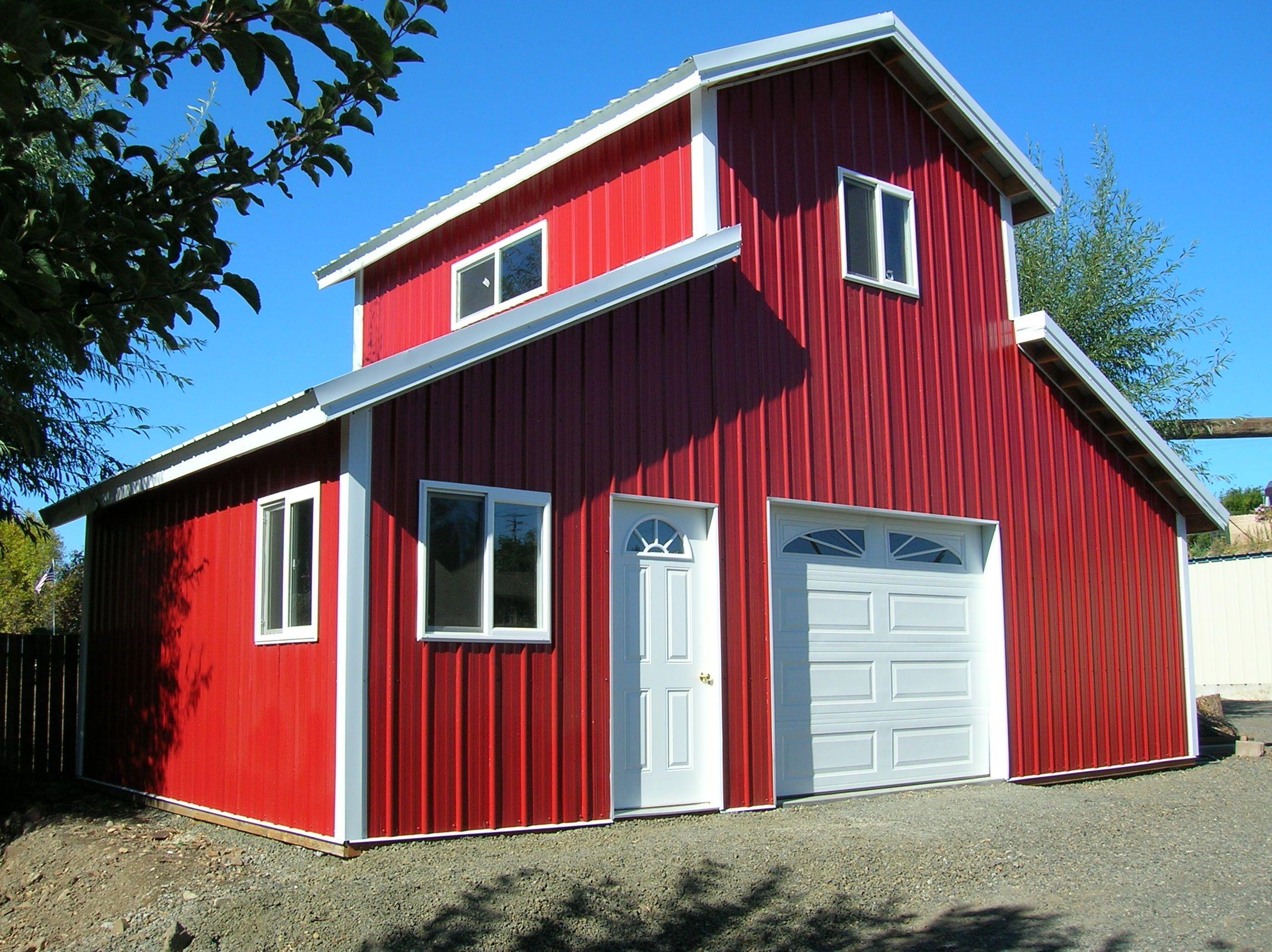 Project 060602 Hansen Buildings Barn house kits