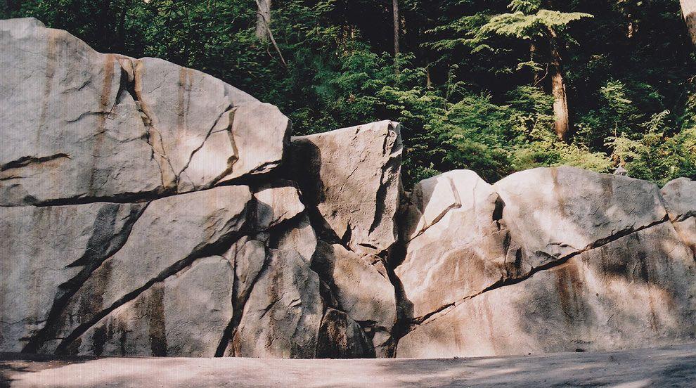 Custom Rockwork Retaining Walls Concrete Retaining Walls Faux Rock Landscape