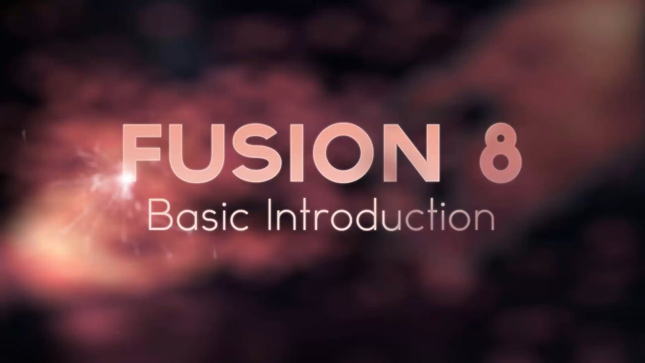 Black Magic Fusion 8 | Intro video