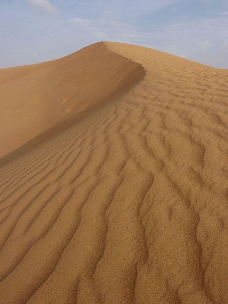 The perfect sand dune #Dubai