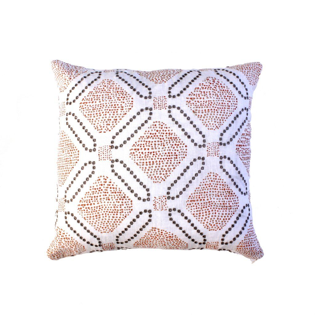 Gramercy Rosé Pillows, Throw pillows, Fabric