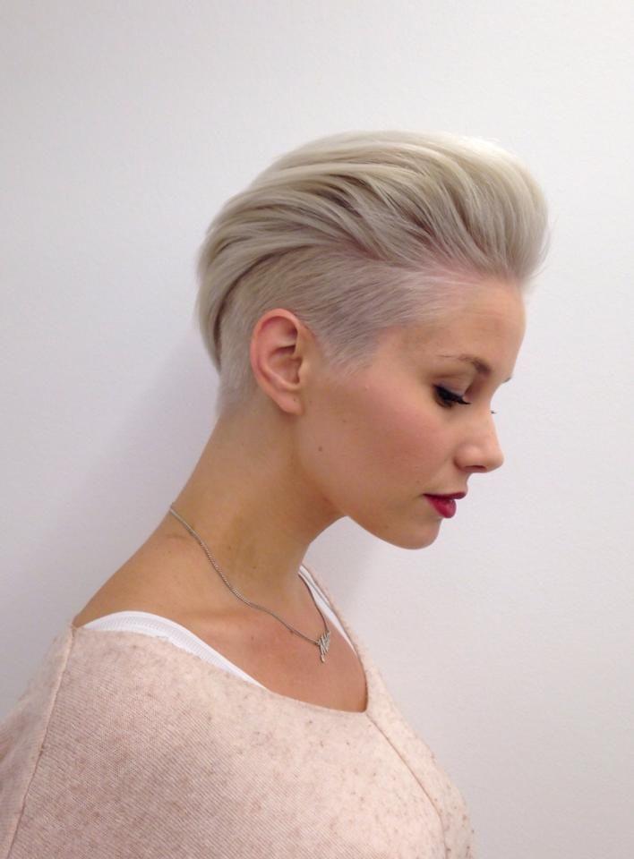 Undercut frisuren frau kurze haare