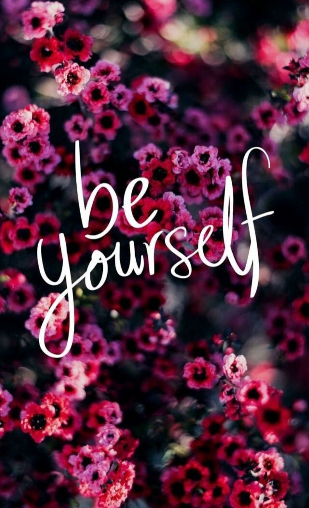 Be yourself phone wallpaper / quote/ reminder #beyourself #inspirationalphonewallpaper