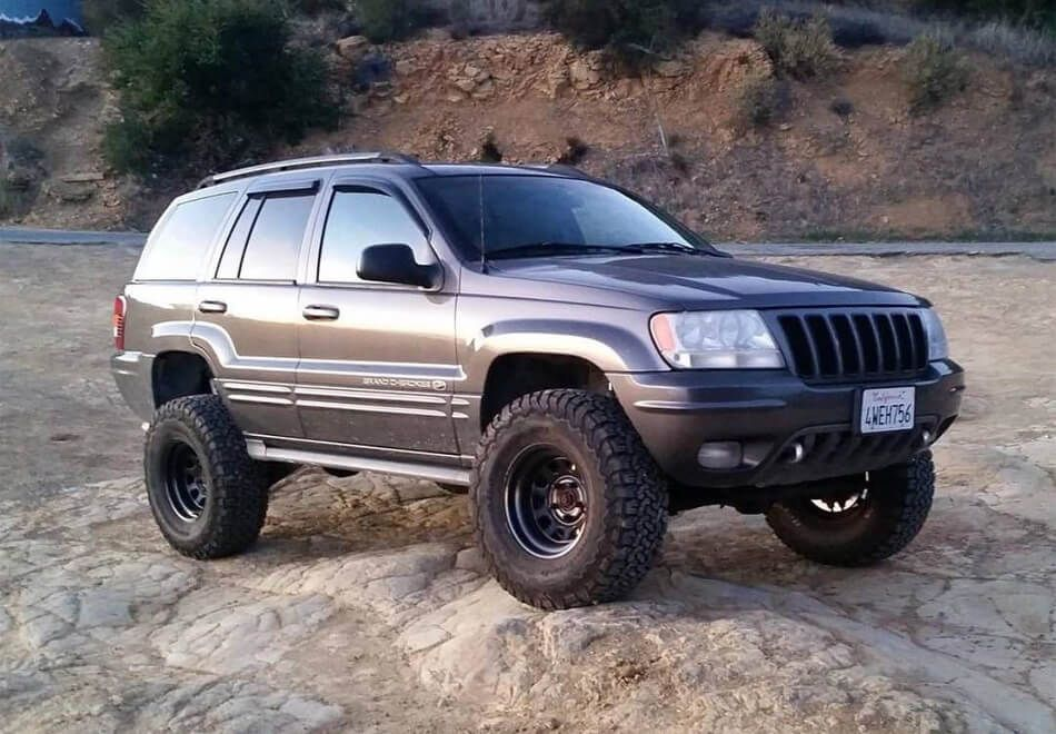 Jeep Grand Cherokee Wj 32 Inch Tires 1 Jpg 950 660 Jeep Wj