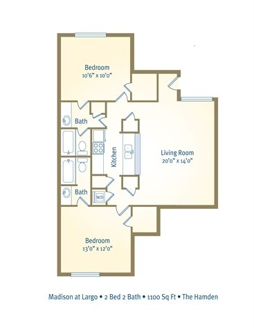New apartment's floor plan. :) not what I had in mind at first but I adore it now that I've seen it.