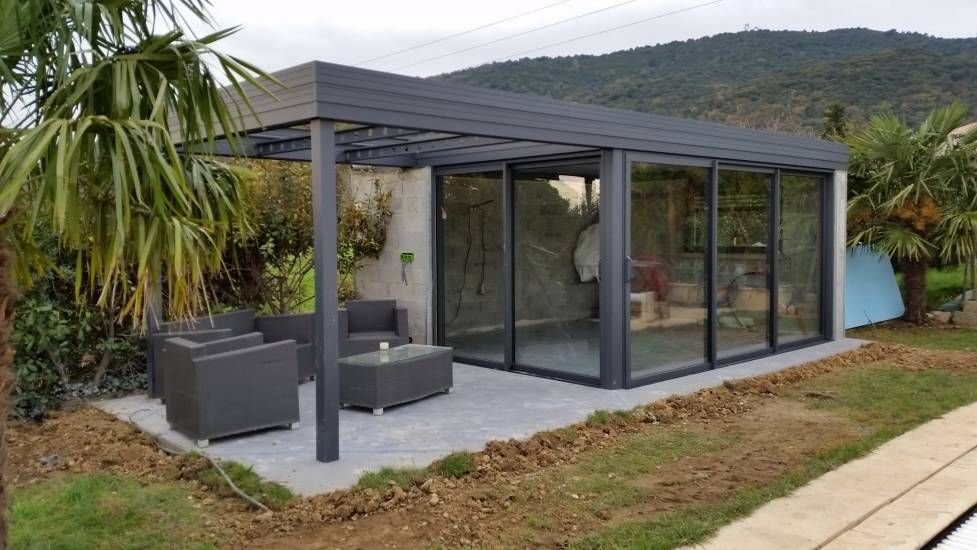 image pergola veranda v randa pergola pinterest pergola v randas et entr es. Black Bedroom Furniture Sets. Home Design Ideas