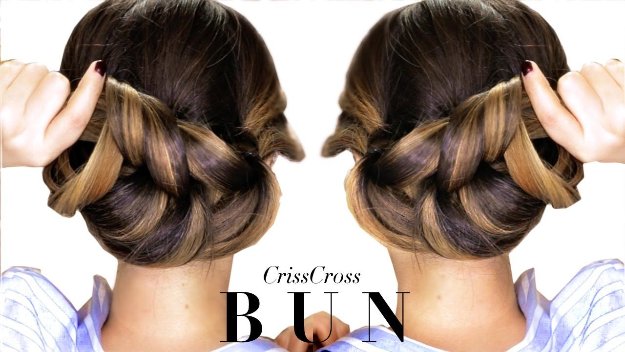 minute elegant bun hairstyle every girl doesnut already know