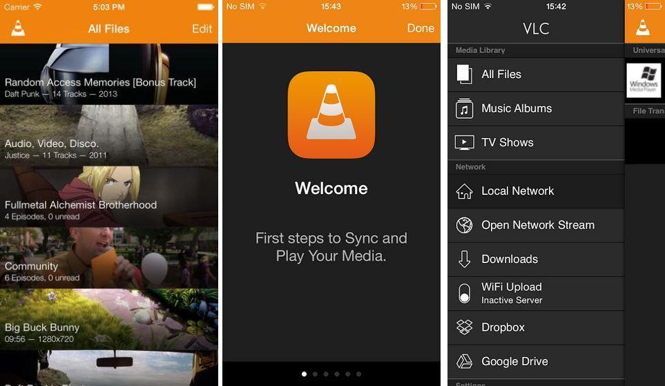 Redesigned VLC Gets Google Drive & Dropbox Integration