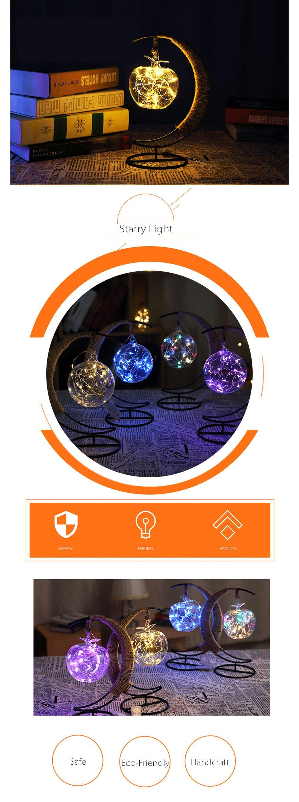 Crescent Moon Fairy Light Lantern from Apollo Box | Fairy lights ...