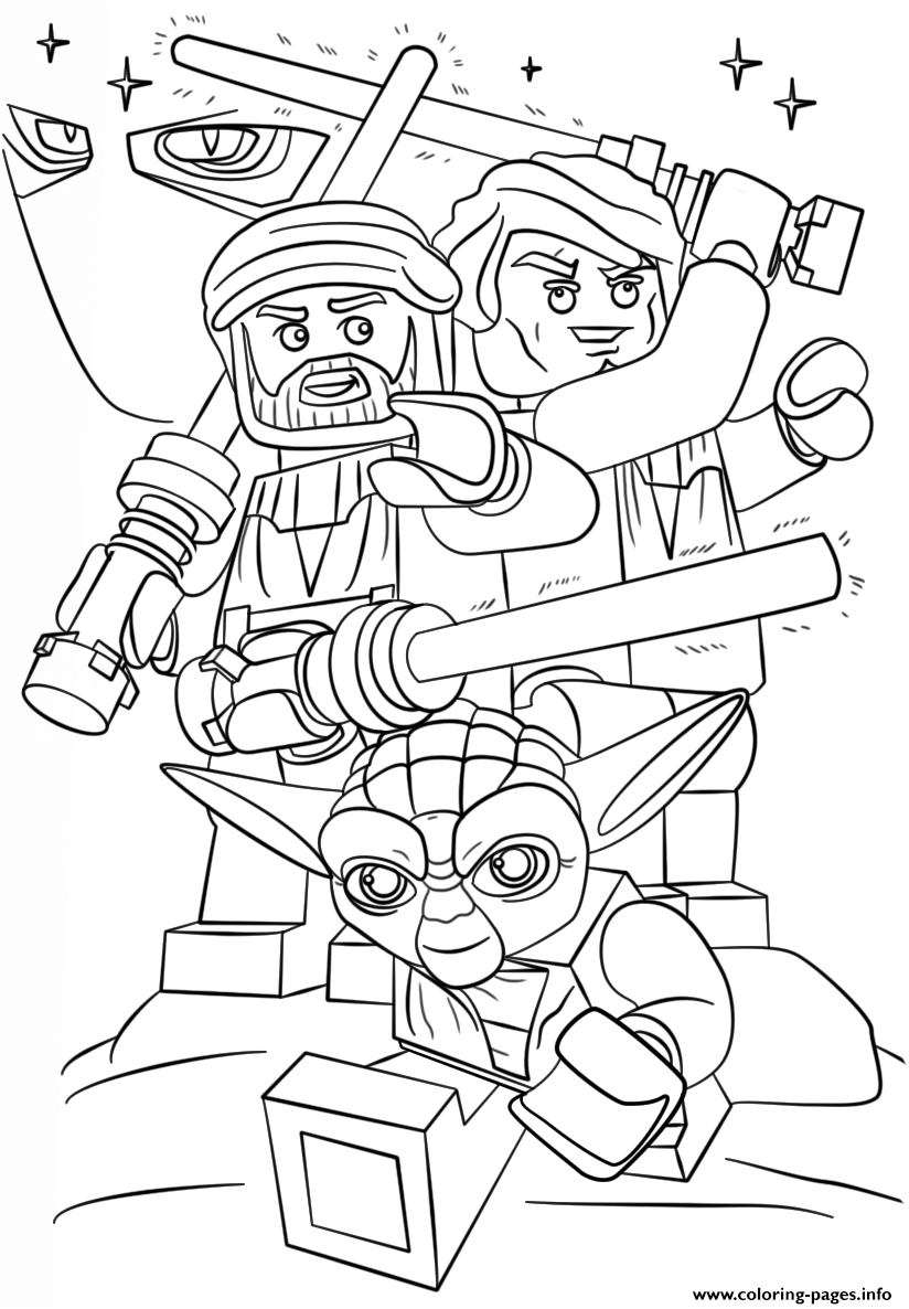 print star wars coloring pages for kids | Print lego star wars clone wars coloring pages | Lego ...