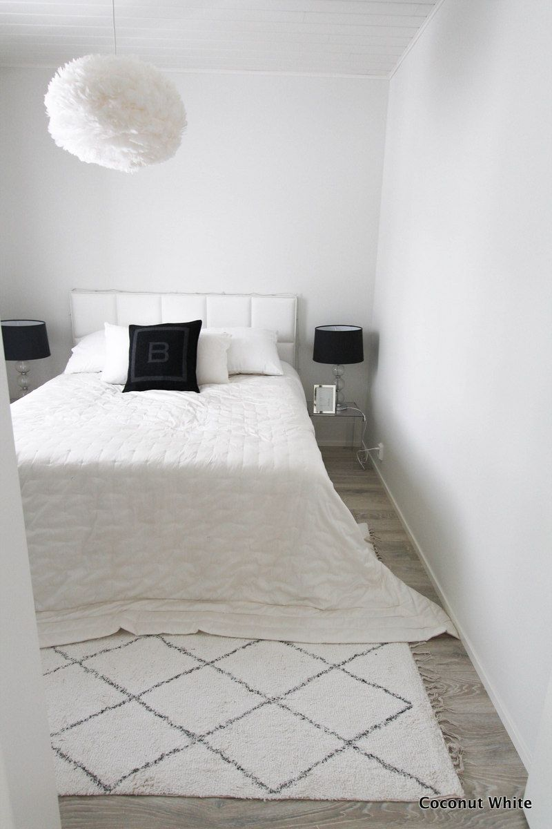 Höyhenen keveitä unia tiedossa - makuuhuoneen uusi valaisin | Coconut White