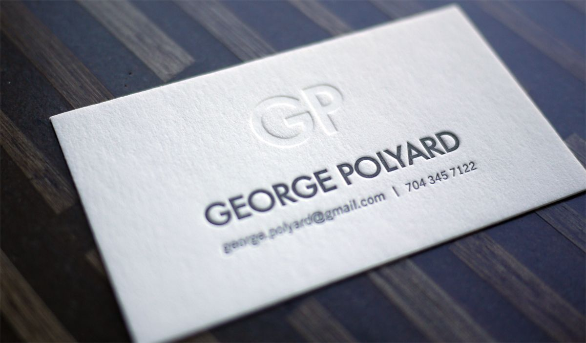 letterpress | Calling cards | Pinterest | Calling cards and ...