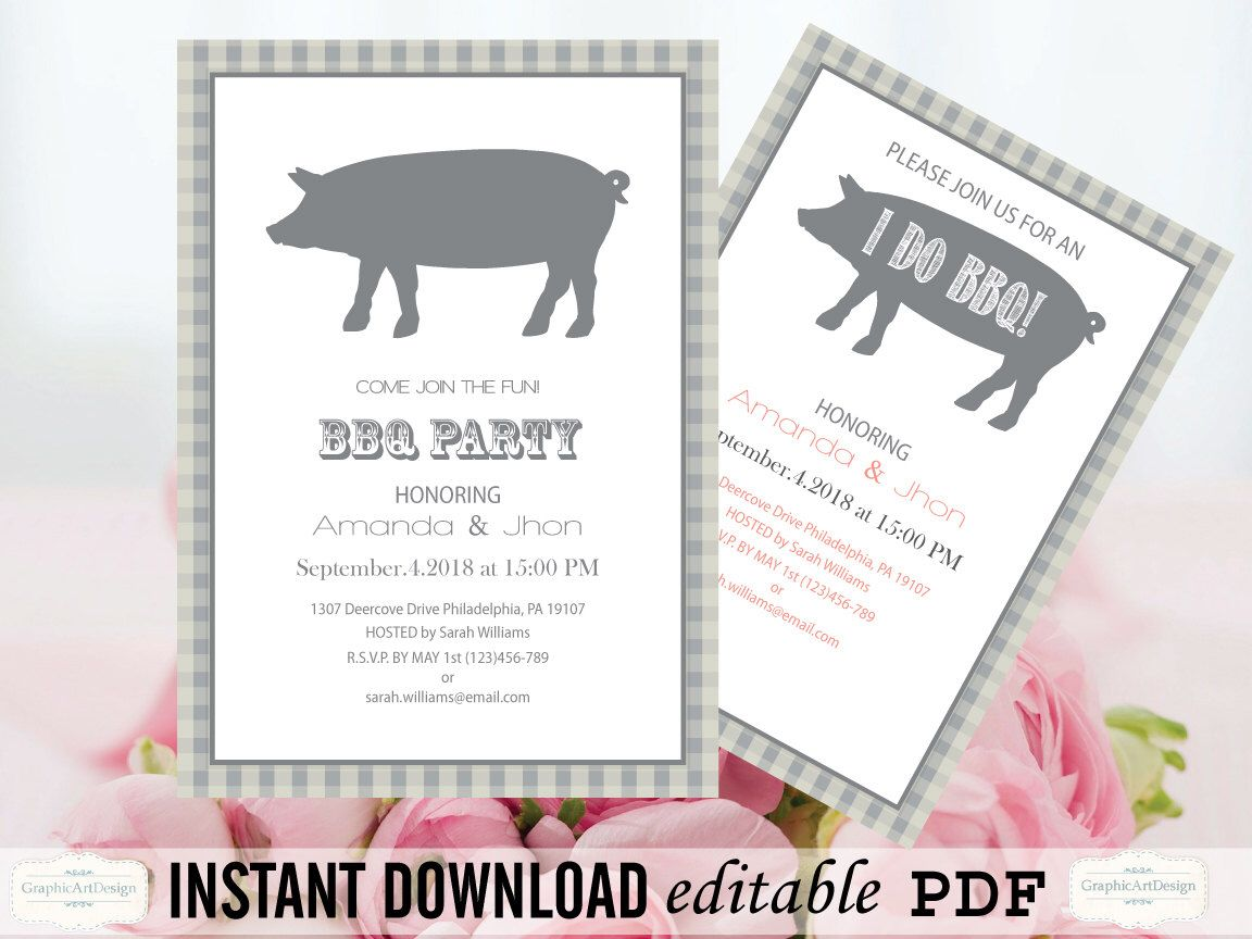 Exelent Pig Roast Wedding Reception Illustration - The Wedding Ideas ...
