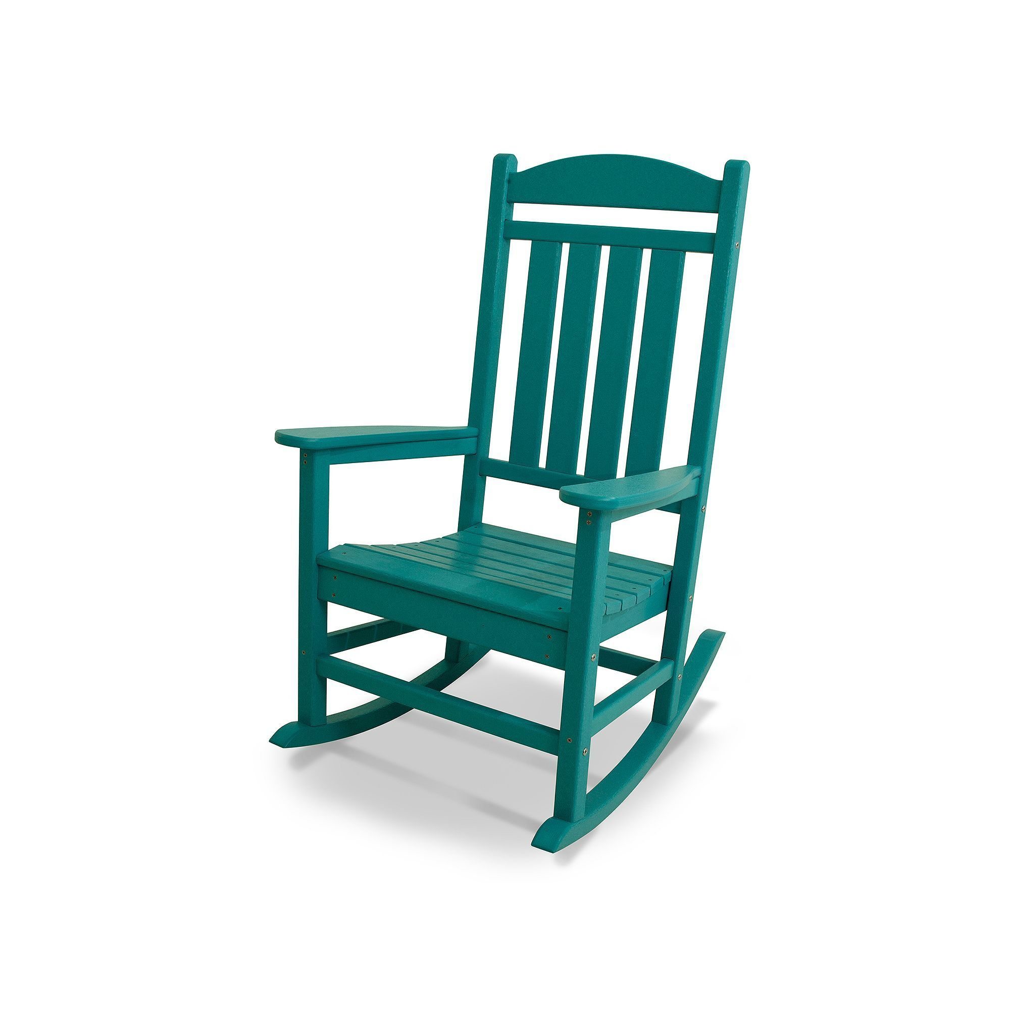 Polywood® Presidential Bright Rocking Chair Outdoor
