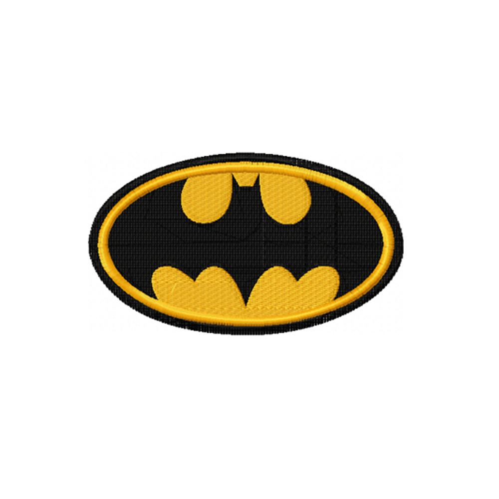 Batman Logo Embroidery Design Instant Download Batman Embroidery Embroidery Designs Embroidery Logo