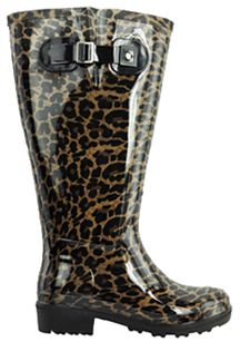 1ab649b0cdb4 Lily Women s Super Wide Calf™ Rain Boot (Leopard) - Rain Boots  Extra Wide  Calf Super Wide Calf®