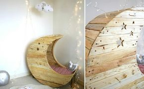 palettenm bel selber bauen diy mondschaukel f r babys mit anleitung diy. Black Bedroom Furniture Sets. Home Design Ideas